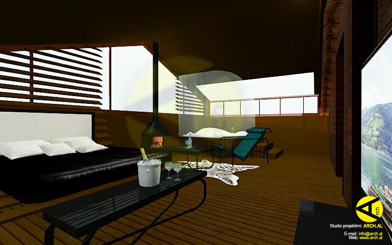 Ristrutturazione – Terrazzo adibito a zona relax, Suite  
